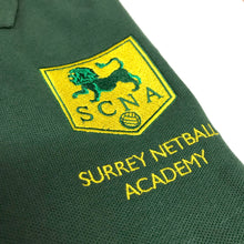 Load image into Gallery viewer, Surrey County Netball Coaches Polo 100% Cotton