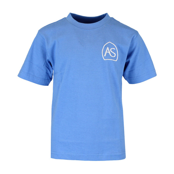 All Saints PE T-Shirt - Sky Blue