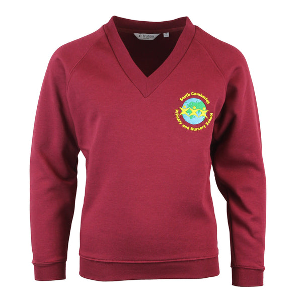 South Camberley Primary V Neck Sweatshirt by Trutex