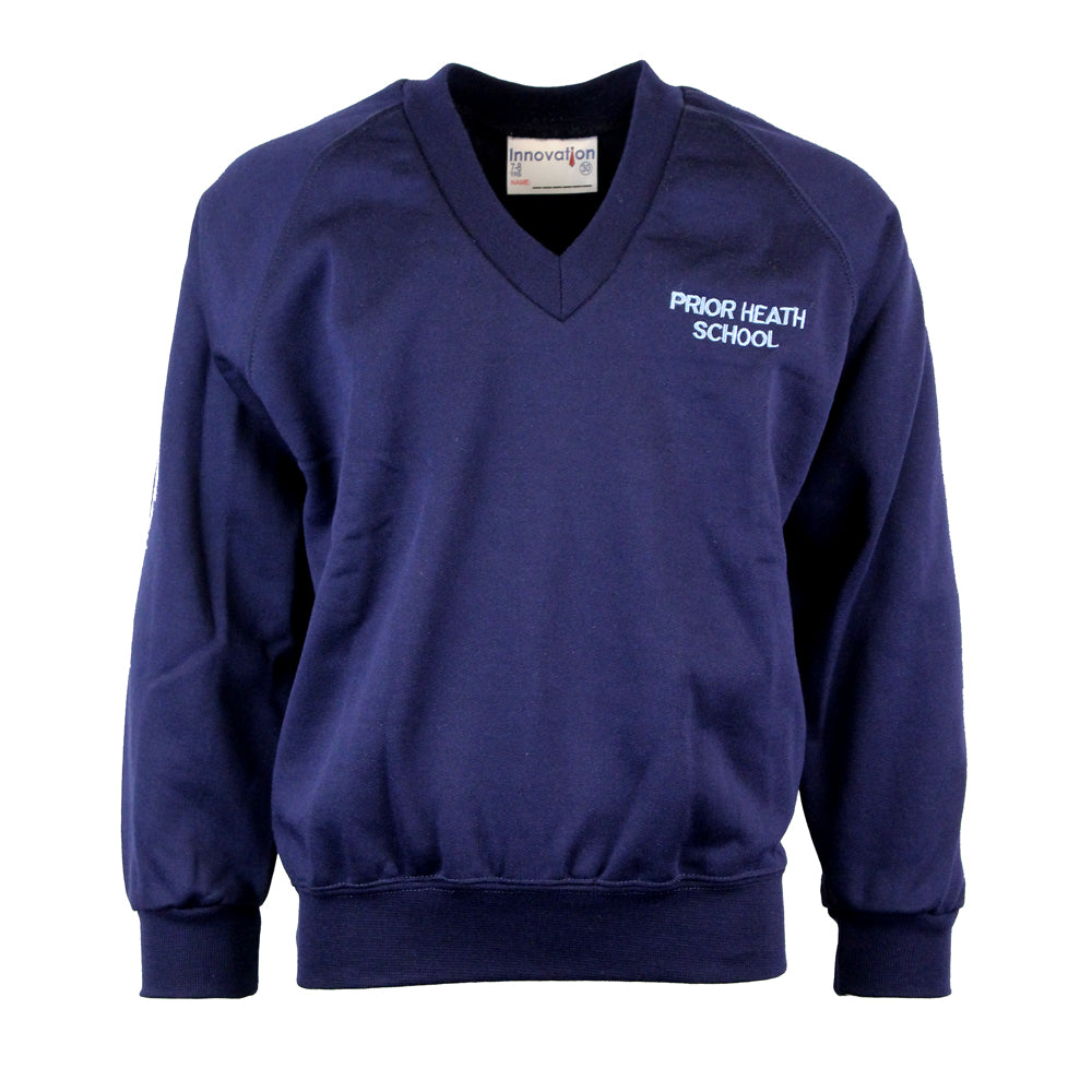Prior Heath V Neck Sweatshirt