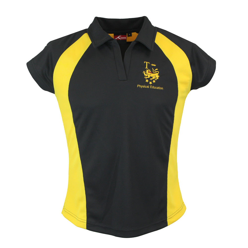 Tomlinscote Sector Fitted Sports Polo by Akoa