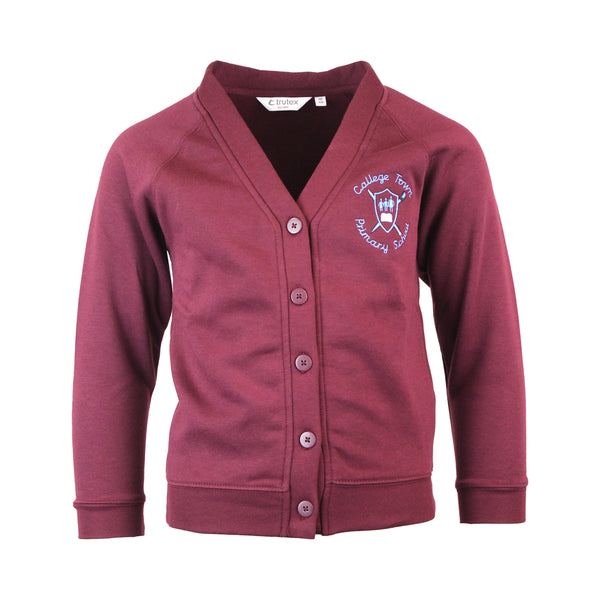 College Town Primary Cardigan by Trutex