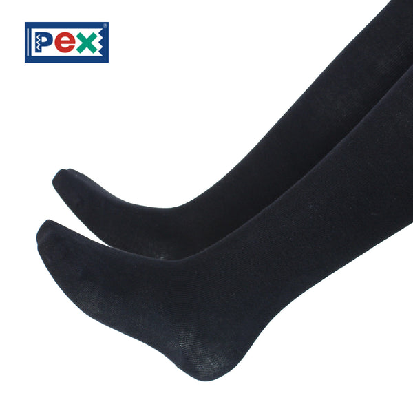 Pex Sunset 2 Pair Pack Cotton Rich Black Tights