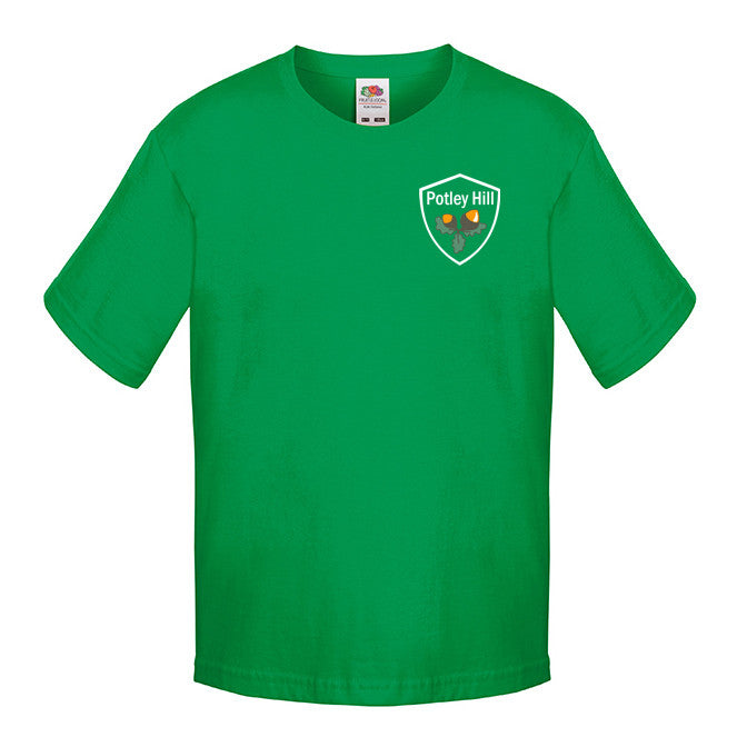 Potley Hill Green House PE T-Shirt