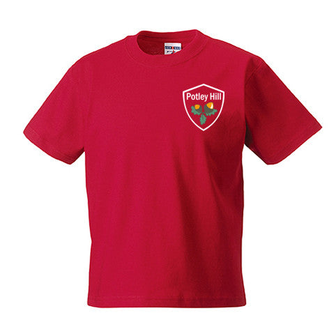 Potley Hill Red House PE T-Shirt