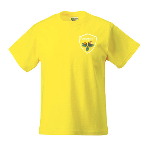 Potley Hill Yellow House PE T-Shirt