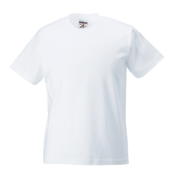 White 100% Cotton T-Shirt