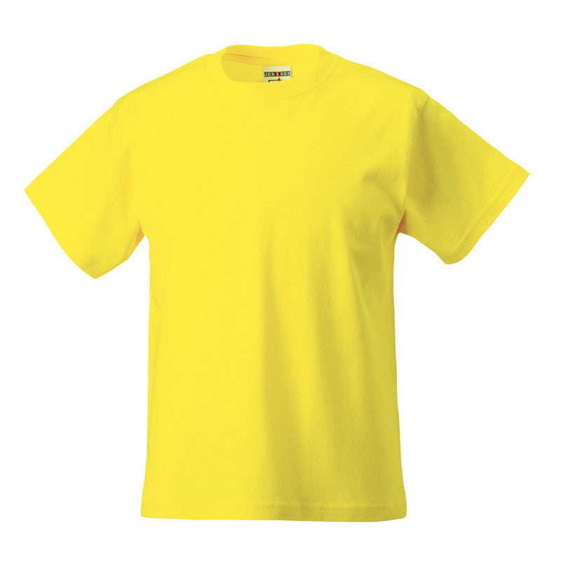 Yellow 100% Cotton T-Shirt