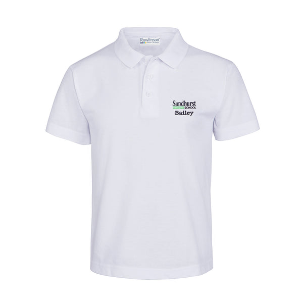 Sandhurst School Summer House Polo Shirt - Bailey
