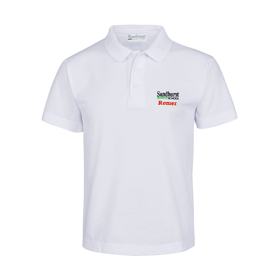Sandhurst School Summer House Polo Shirt - Romer
