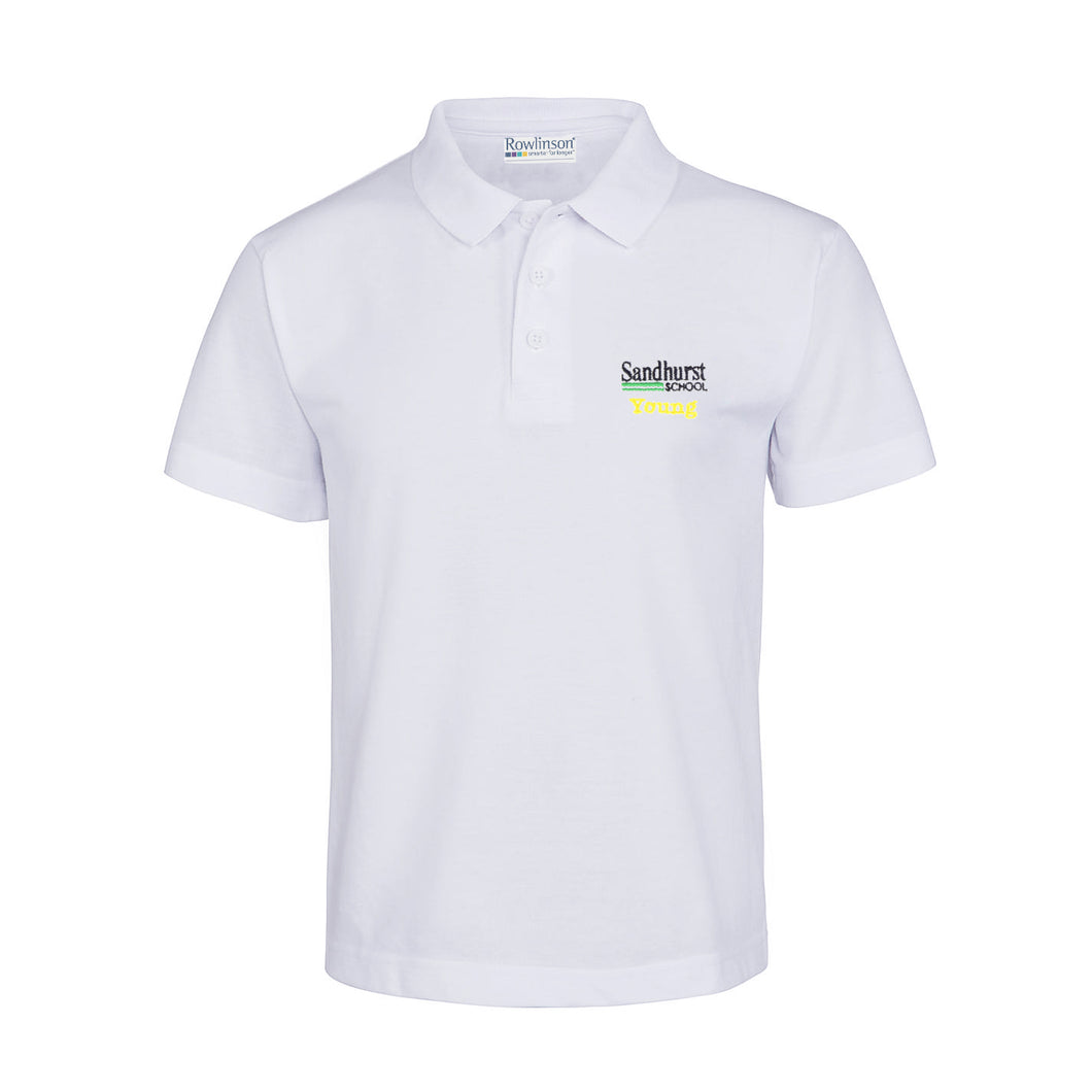 Sandhurst School Summer House Polo Shirt - Young