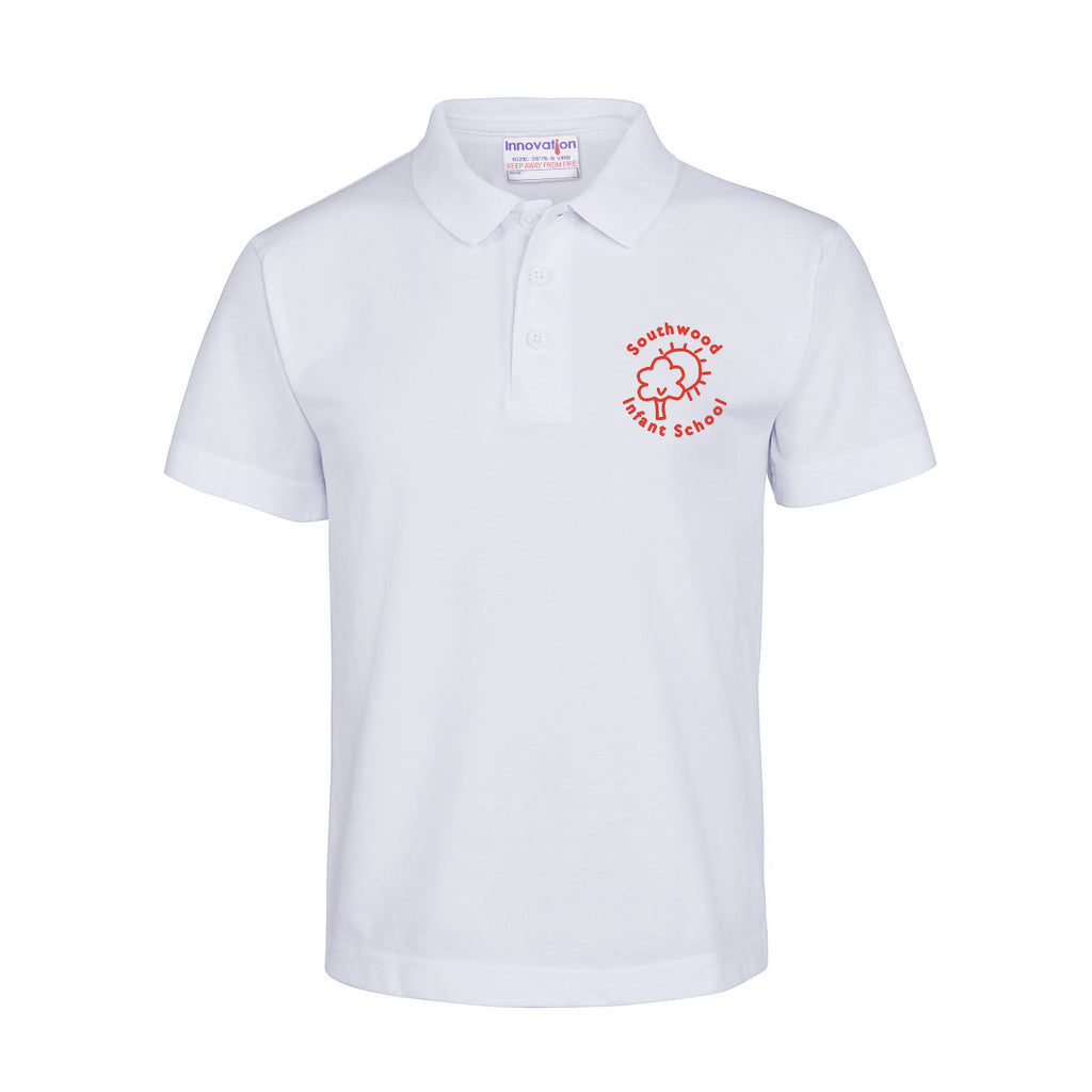 Southwood White Polo Shirt