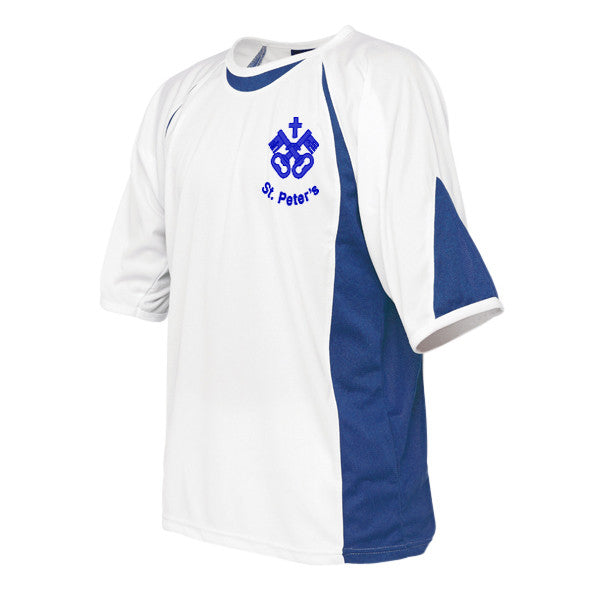 St Peter's Blue PE T-Shirt