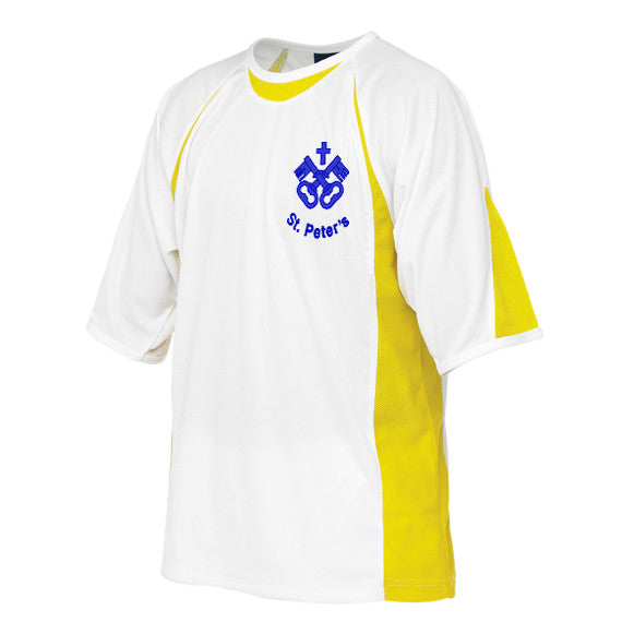 St Peter's Yellow PE T-Shirt