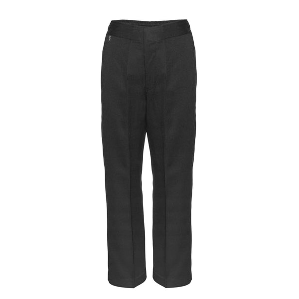 Flat Front Sturdy Fit Boys Charcoal Grey School Trousers by Innovation
