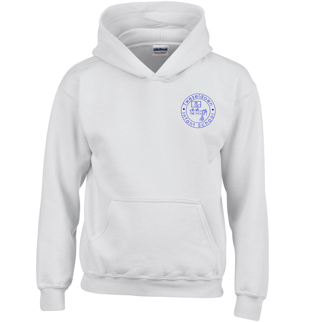Tweseldown White PE Hooded Top - Oak