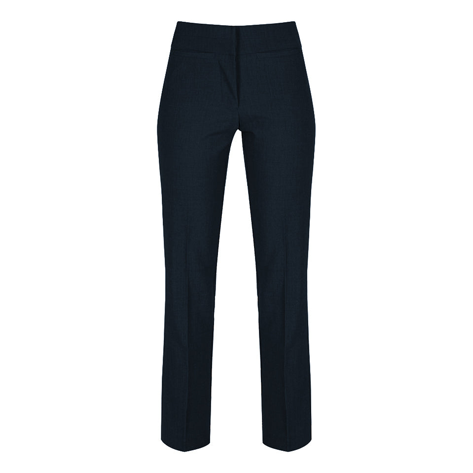 Senior Navy Girls Straight Leg Twin Pocket Trouser by Trutex GTN