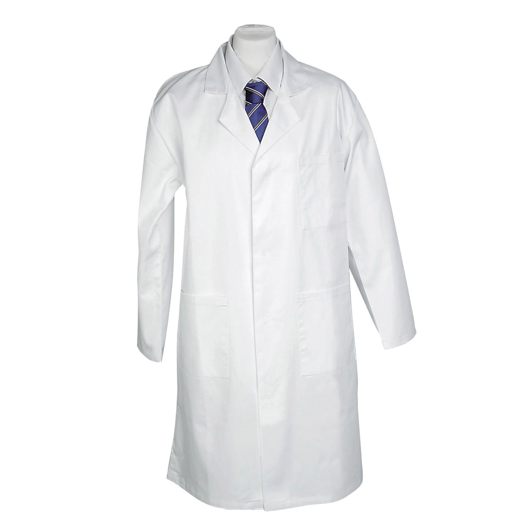 Poly Cotton White Lab Coat