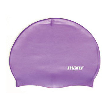 Maru Silicone Swim Hat - Purple