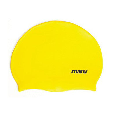 Maru Silicone Swim Hat - Yellow
