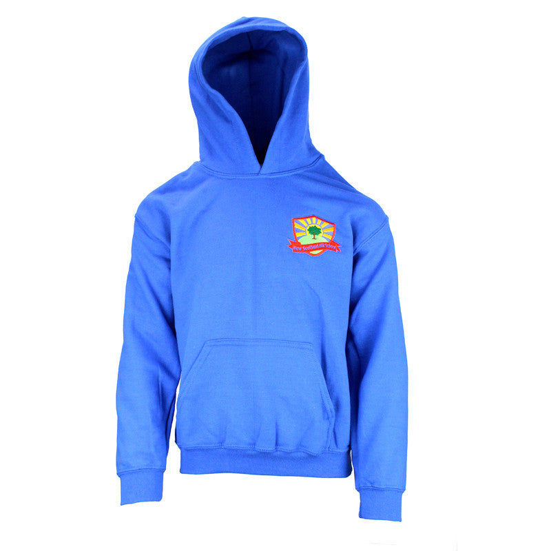 New Scotland Hill PE Hooded Top - Royal