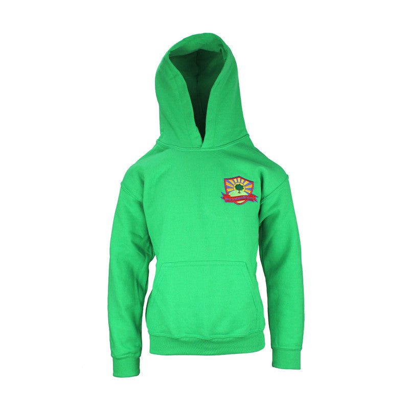 New Scotland Hill PE Hoodie - Green