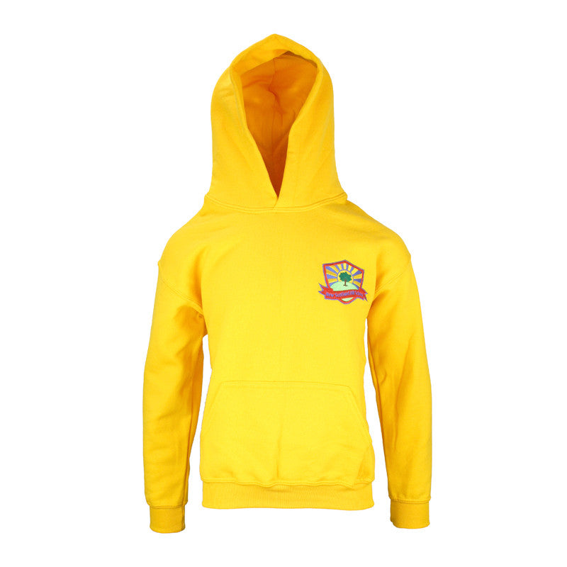 New Scotland Hill PE Hoodie - Yellow