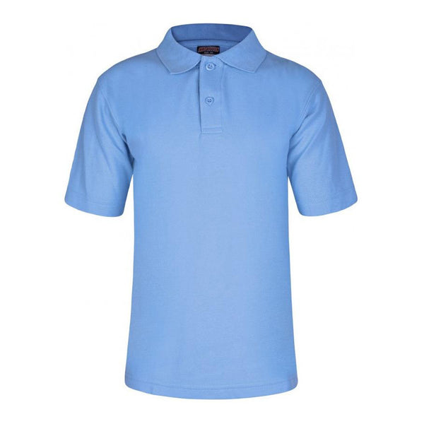 Sky Blue Polo Shirt by Innovations