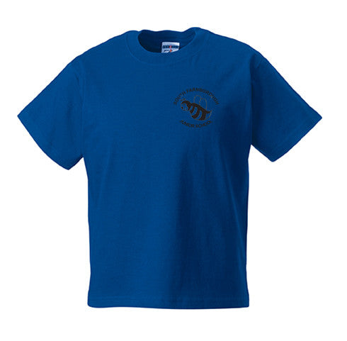 South Farnborough Blue PE T-Shirt