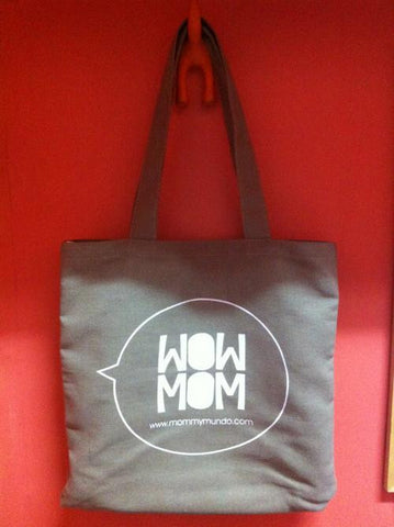 Mommy Mundo Tote Bag - Twill (WOW MOM)