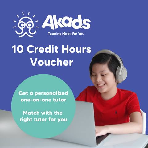 Akads Online Tutoring 10 Credit Hour Voucher