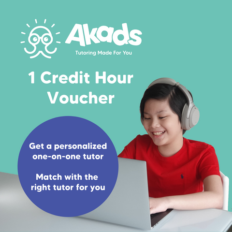 Akads Online Tutoring 1 Credit Hour Voucher