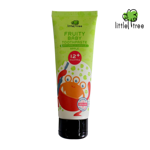 Little Tree Monster Series  Fruity Baby Toothpaste - 12+months