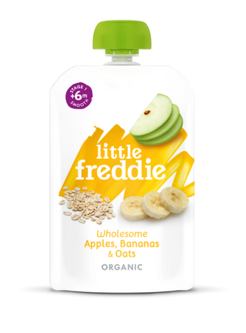 Little Freddie Wholesome Apples, Bananas & Oats
