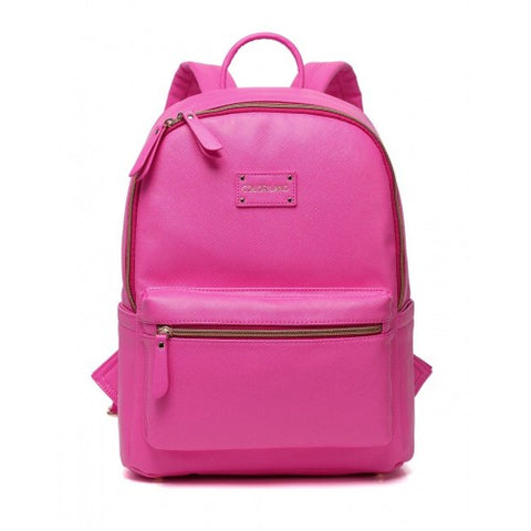 Colorland - BP123-D Backpack Pink