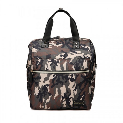 Colorland BP124-B Zara Baby Changing Backpack Camo