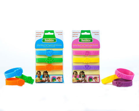 Bandette Write-on Silicone Bottle Band