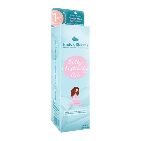 Buds & Blooms - Belly Elasticity Stretch Mark Prevention Oil