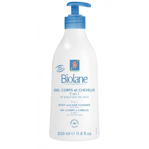 Biolane - 2 in 1 Hair and Body Cleansing Gel