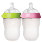 BUNDLE OF 4 250ML SILICONE BABY BOTTLE