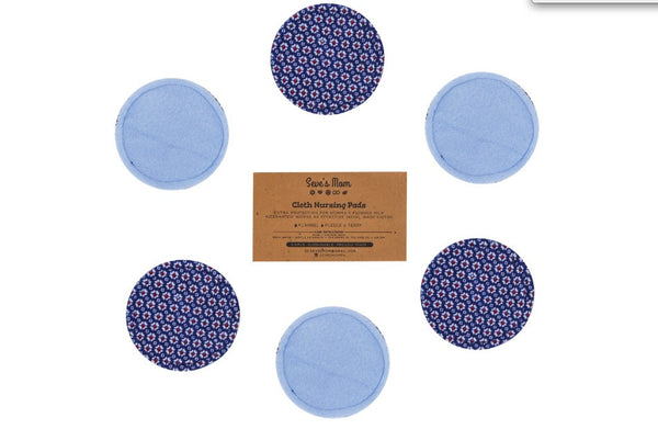 Seve's Mom Cloth Nursing Pads