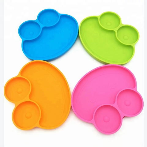 Ecomom Frog Silicone Suction Plate