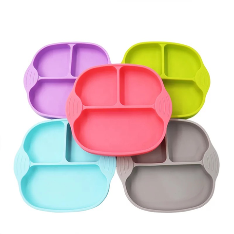 Ecomom Square Silicone Suction Plate