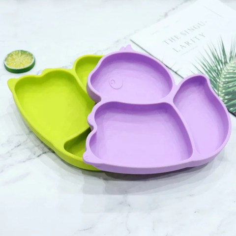 Ecomom Squirrel Silicone Suction Plate