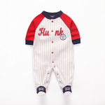 Starkids Togsbear Frogsuits - Red Stripes Hunk