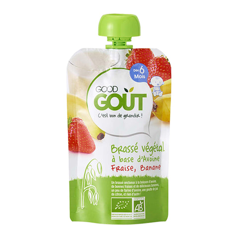 Good Goût  - Oat, Strawberry, Banana 90g (6 mos)