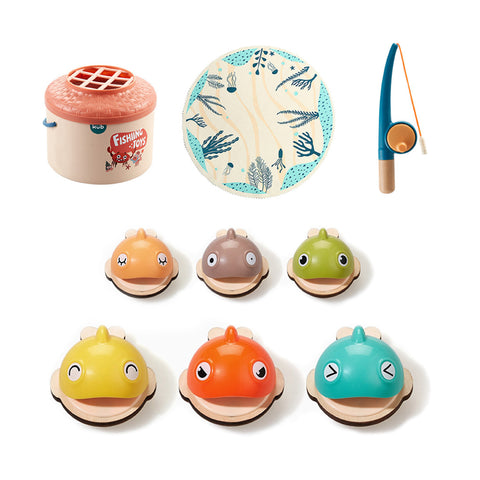 KUB Wooden fishing toy