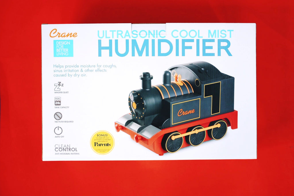 Crane Ultrasonic Cool Mist Humidifier (Train)