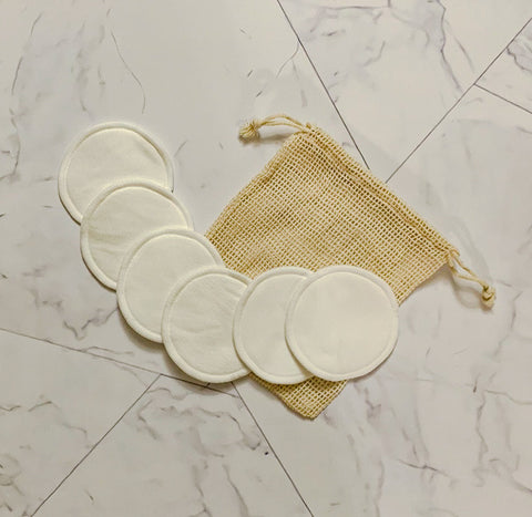 Eco Loving Ideas Cotton Rounds with Mesh Pouch