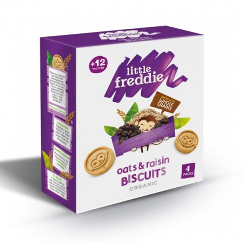 Little Freddie Oats and Raisin Biscuits